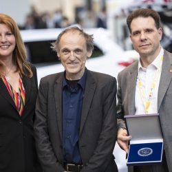 Moderatorin Manuela Stamm, Prof Dr Uwe Höft, Martin Wischner (HVLE)